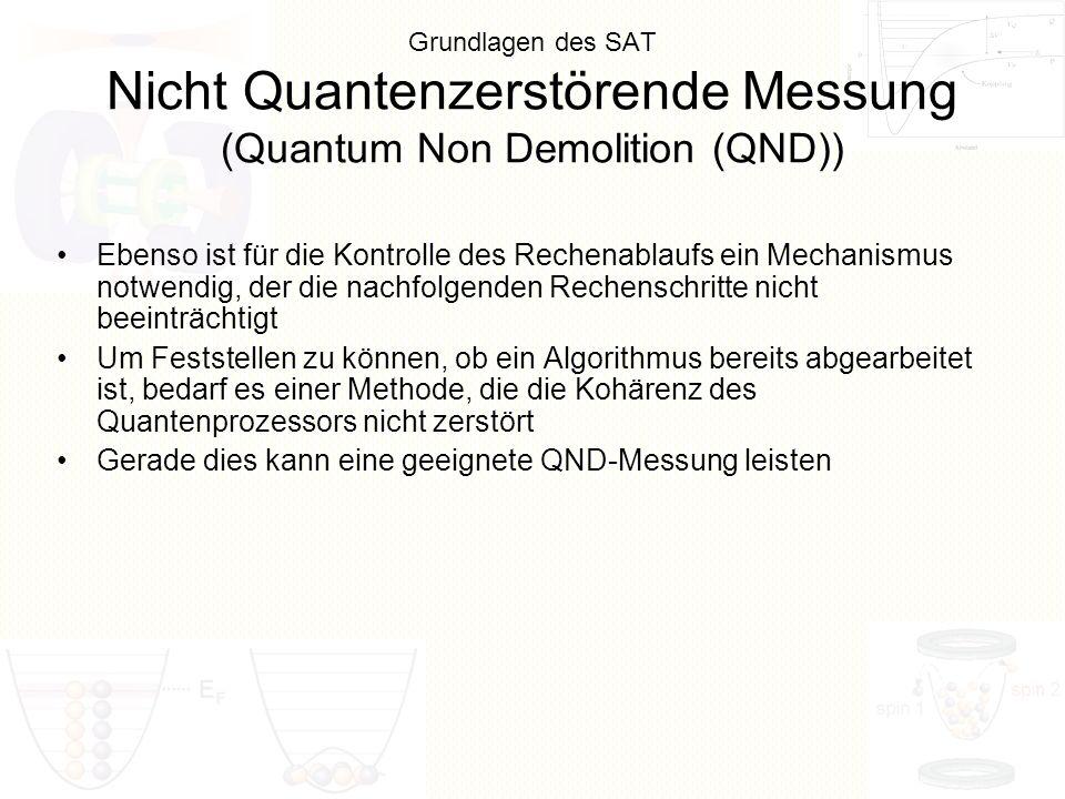 Gerade dies kann eine geeignete QND-Messung leisten