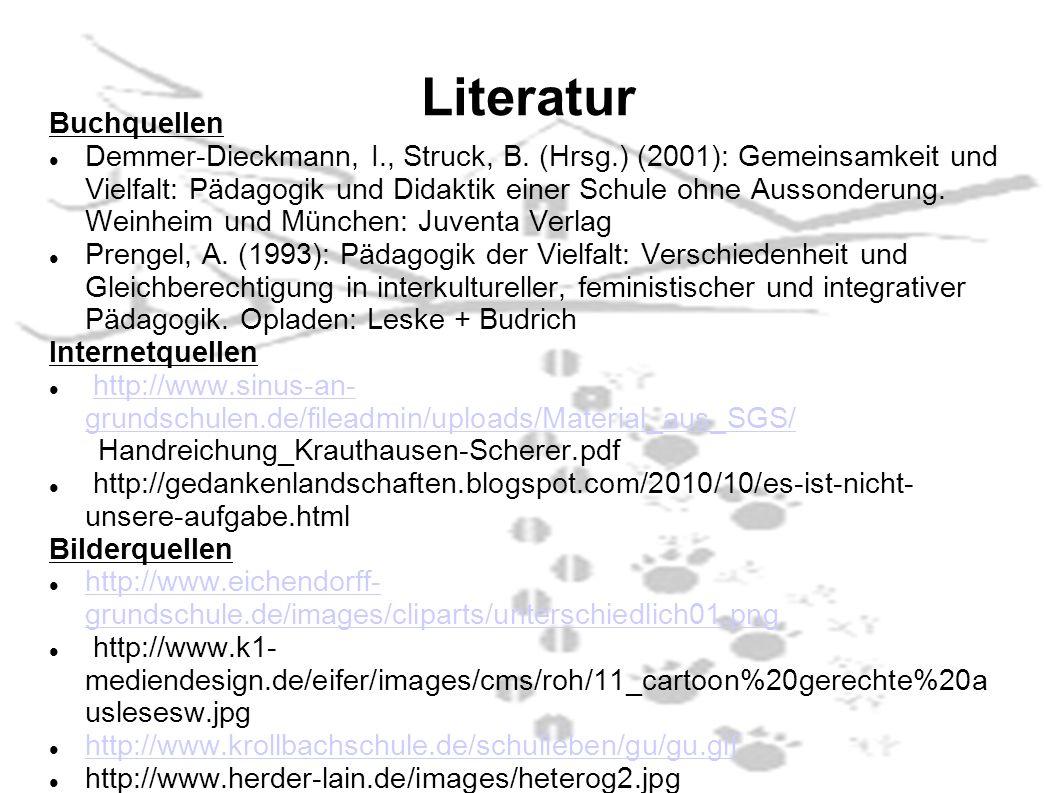 Literatur Buchquellen