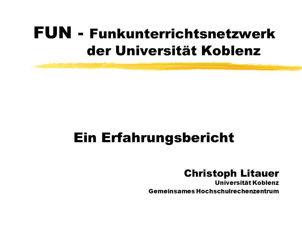 FUN - Funkunterrichtsnetzwerk der Universität Koblenz
