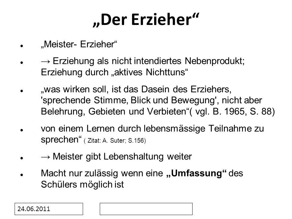 """""""Der Erzieher """"Meister- Erzieher"""