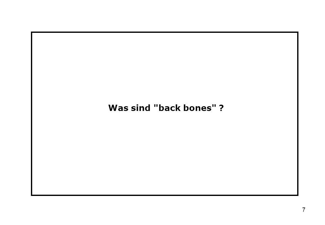 Was sind back bones