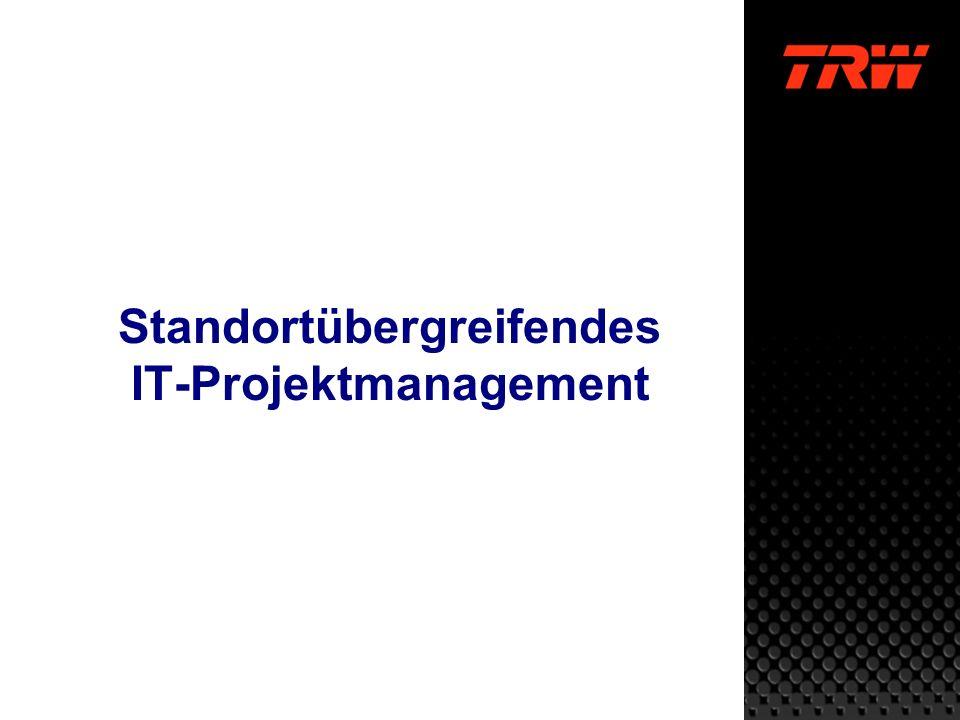 Standortübergreifendes IT-Projektmanagement