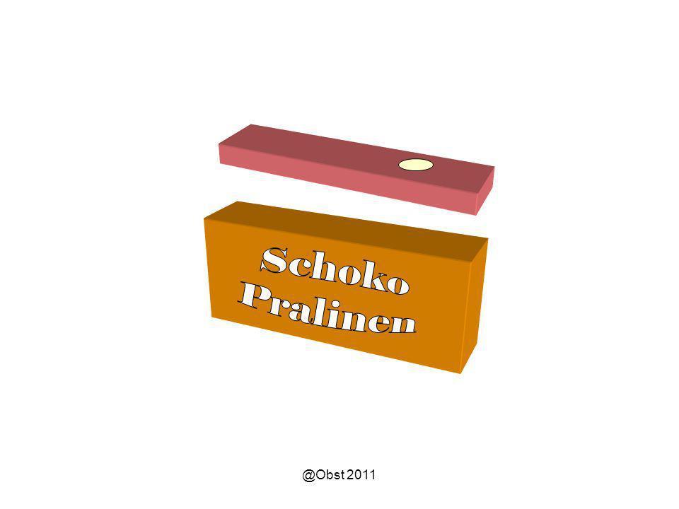 Schoko Pralinen @Obst 2011