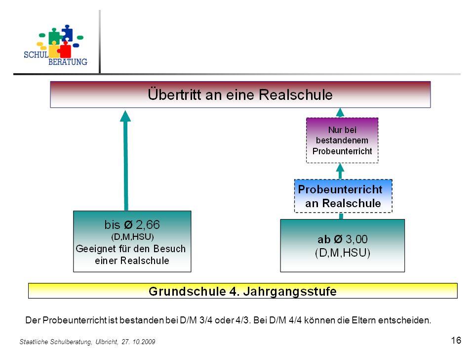 Staatliche Schulberatung, Ulbricht, 27. 10.2009