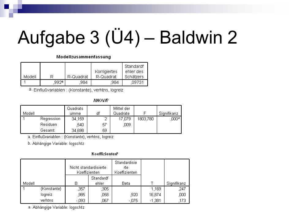 Aufgabe 3 (Ü4) – Baldwin 2