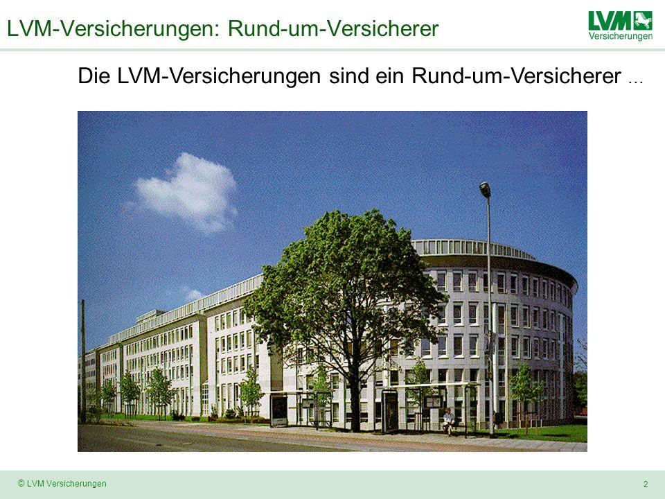 LVM-Versicherungen: Rund-um-Versicherer