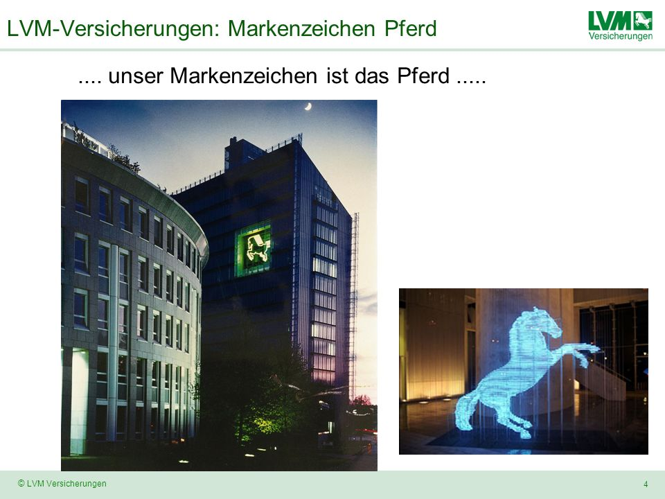 LVM-Versicherungen: Markenzeichen Pferd