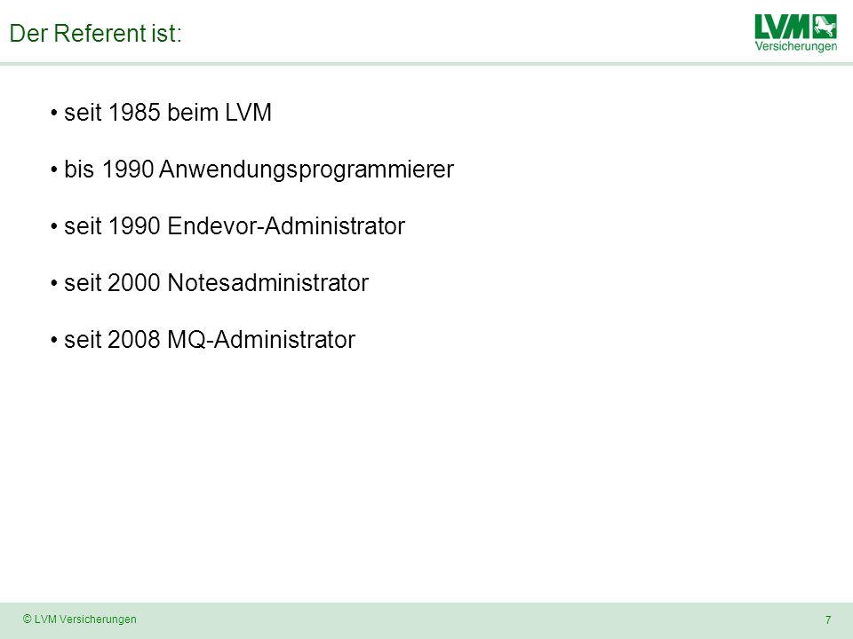 bis 1990 Anwendungsprogrammierer seit 1990 Endevor-Administrator