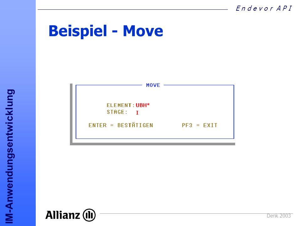 Beispiel - Move UBH* I Denk 2003