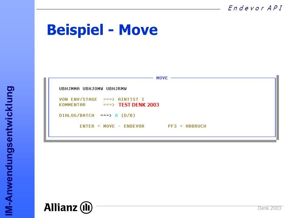 Beispiel - Move TEST DENK 2003 Denk 2003