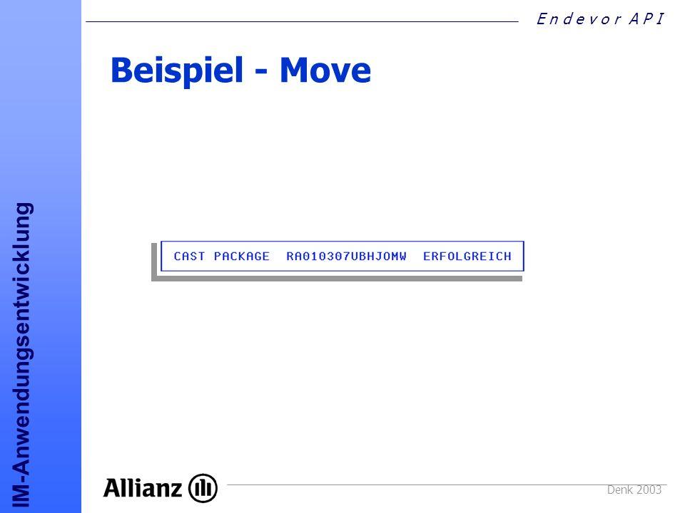 Beispiel - Move Denk 2003
