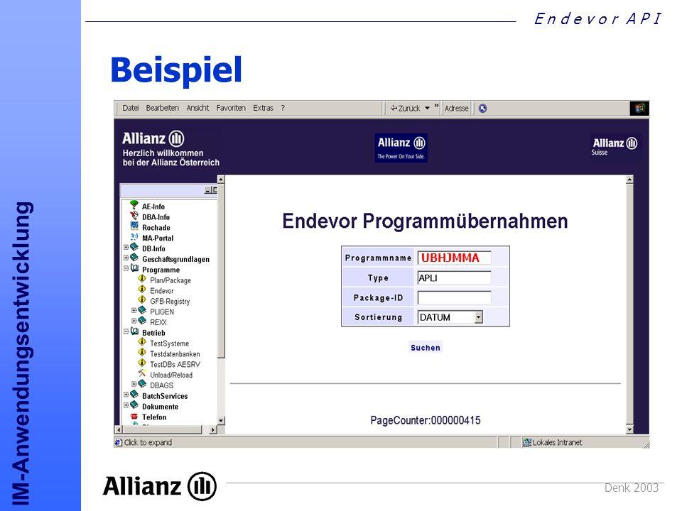 Beispiel UBHJMMA Denk 2003