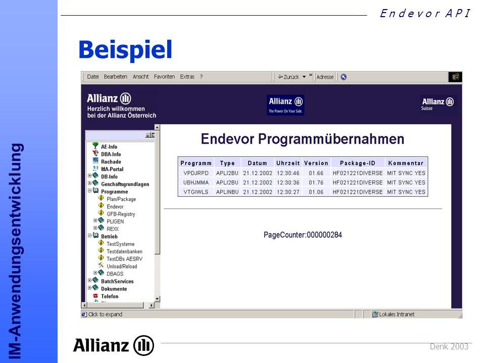 Beispiel Denk 2003