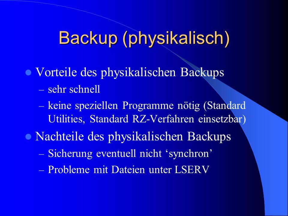 Backup (physikalisch)