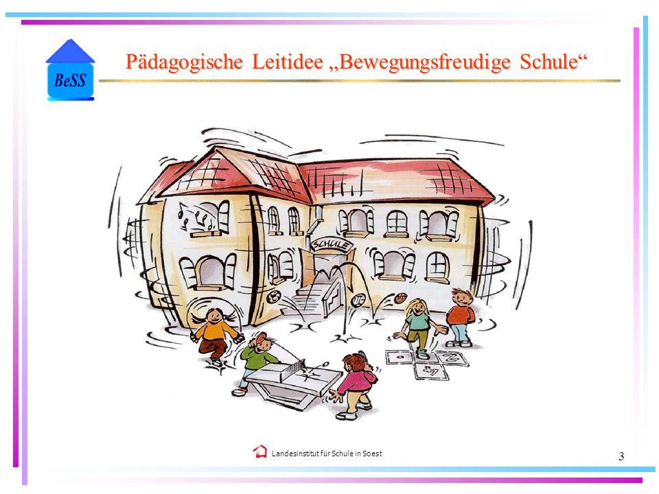 """Pädagogische Leitidee """"Bewegungsfreudige Schule"""