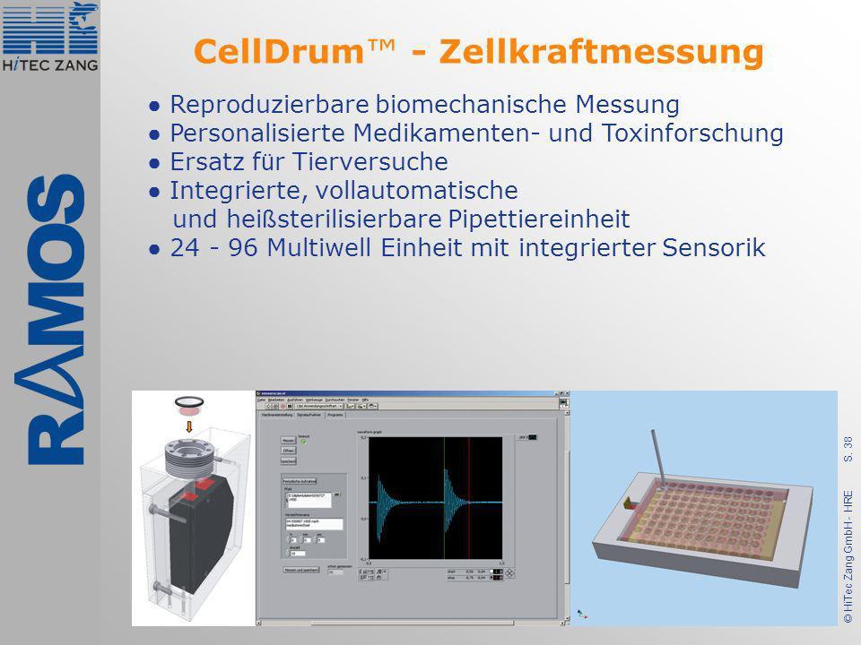 CellDrum™ - Zellkraftmessung