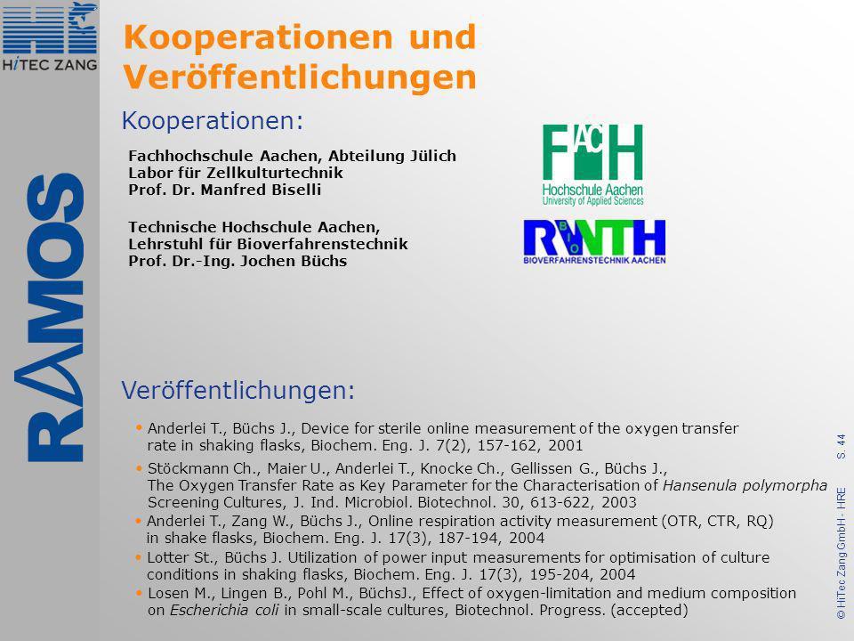 Kooperationen und Veröffentlichungen