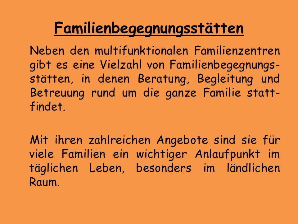 Familienbegegnungsstätten