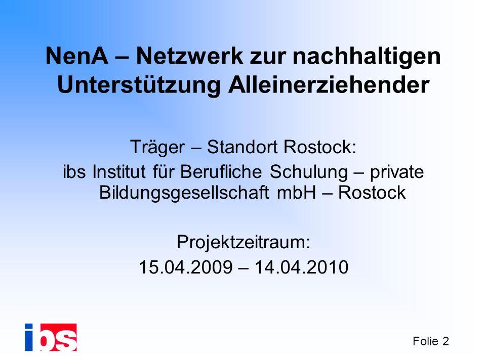 NenA – Netzwerk zur nachhaltigen Unterstützung Alleinerziehender