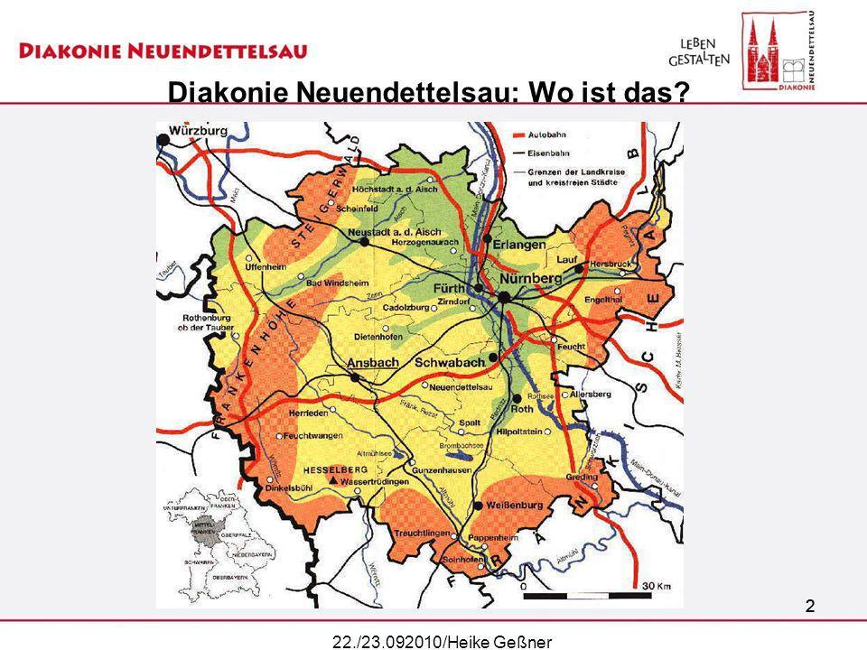 Diakonie Neuendettelsau: Wo ist das
