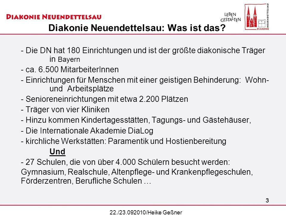 Diakonie Neuendettelsau: Was ist das