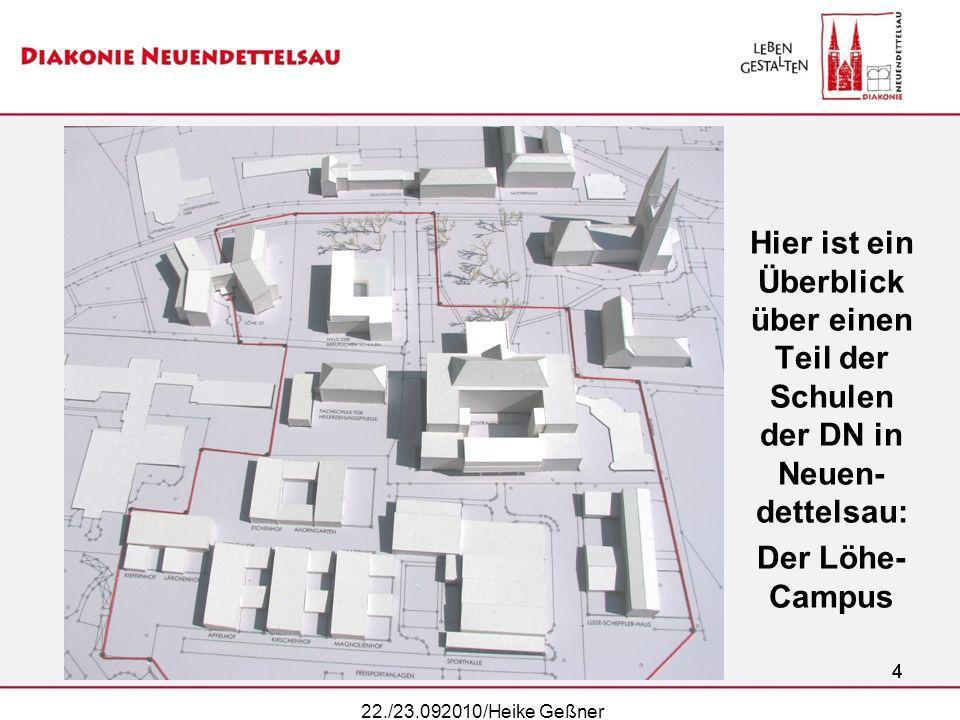 Hier ist ein Überblick über einen Teil der Schulen der DN in Neuen-dettelsau: