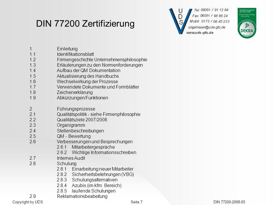 1.1 Identifikationsblatt 1.2 Firmengeschichte Unternehmensphilosophie