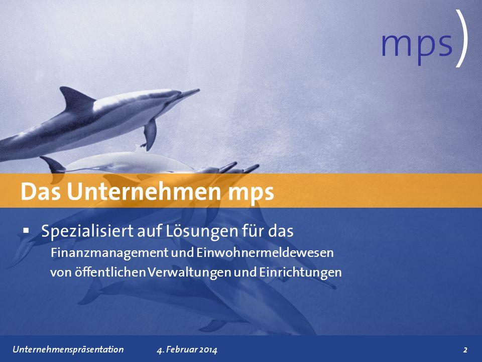 mps) Das Unternehmen mps Spezialisiert auf Lösungen für das
