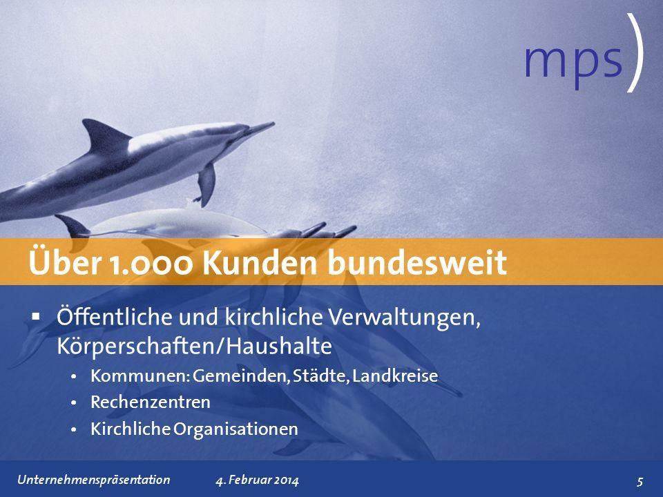 mps) Über 1.000 Kunden bundesweit