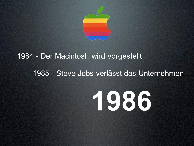 1986 1984 - Der Macintosh wird vorgestellt