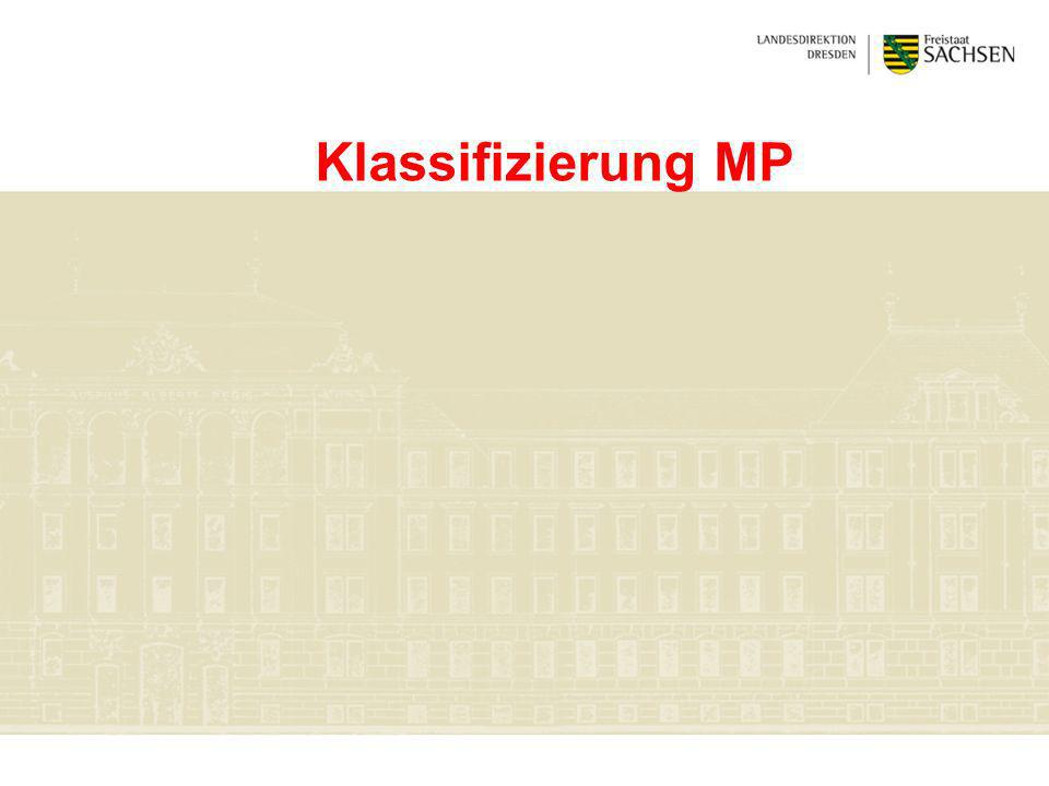 Klassifizierung MP