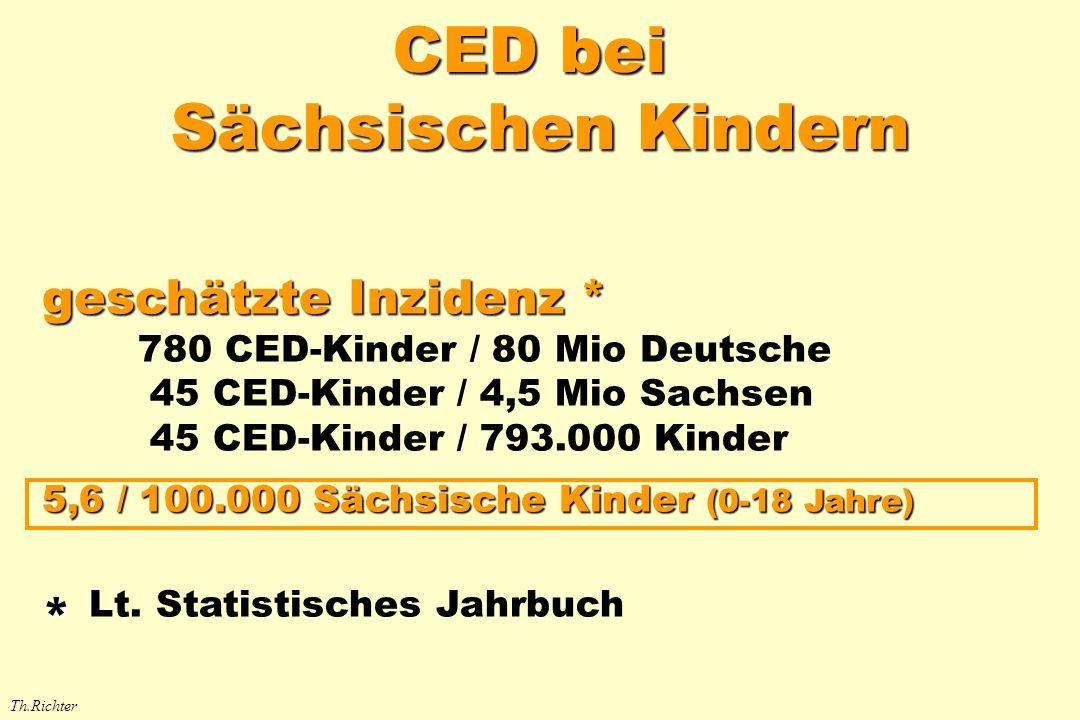 CED bei Sächsischen Kindern