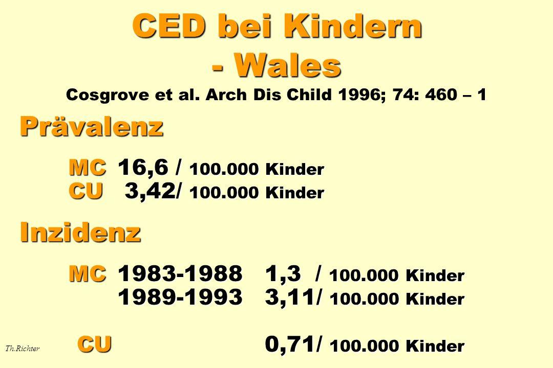 CED bei Kindern - Wales Cosgrove et al