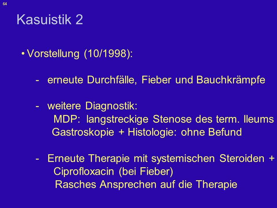Kasuistik 2 Vorstellung (10/1998):
