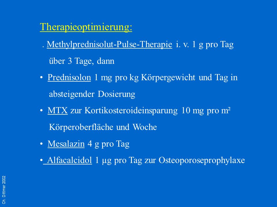 Therapieoptimierung: