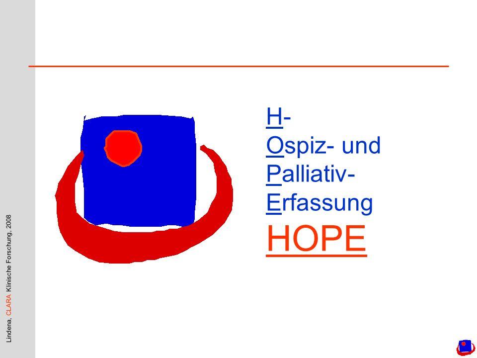 H- Ospiz- und Palliativ-Erfassung HOPE