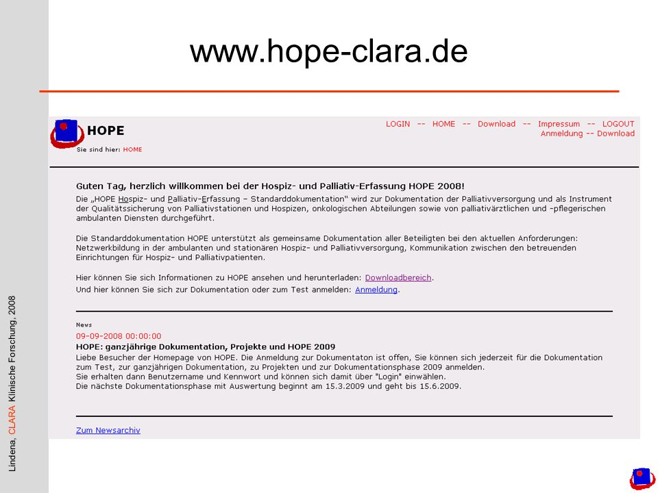 www.hope-clara.de