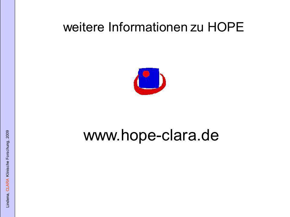 weitere Informationen zu HOPE