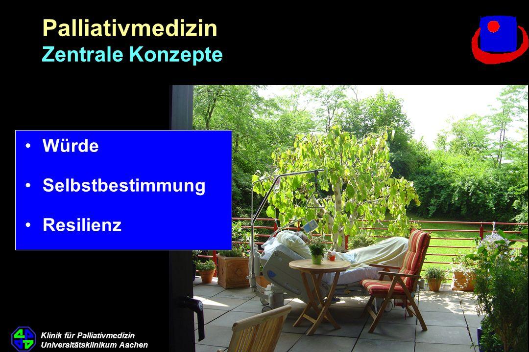 Palliativmedizin Zentrale Konzepte