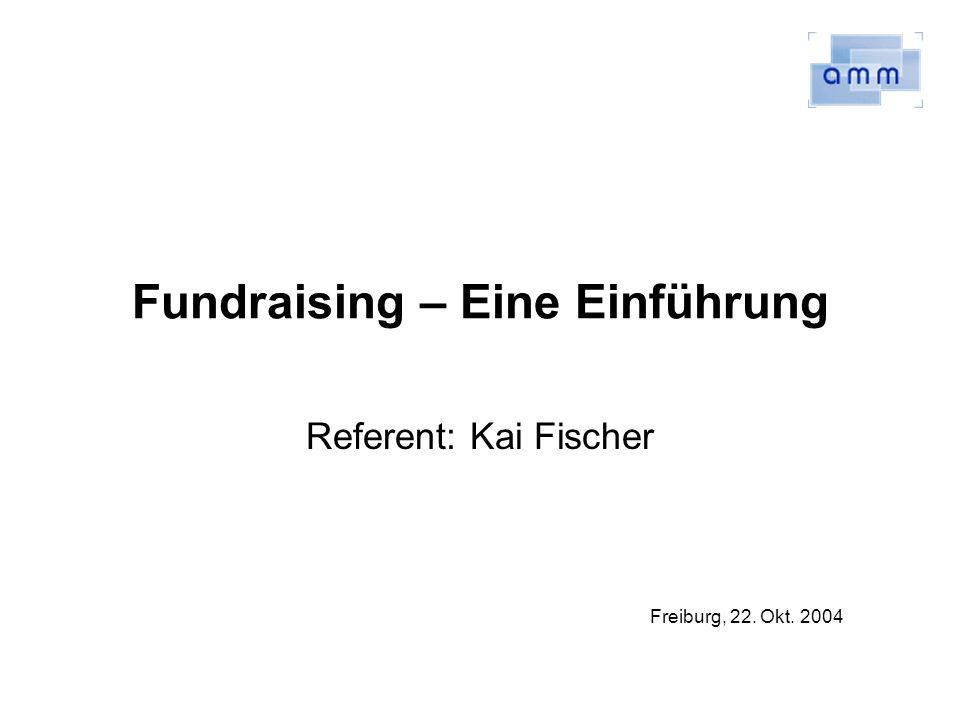 Fundraising – Eine Einführung