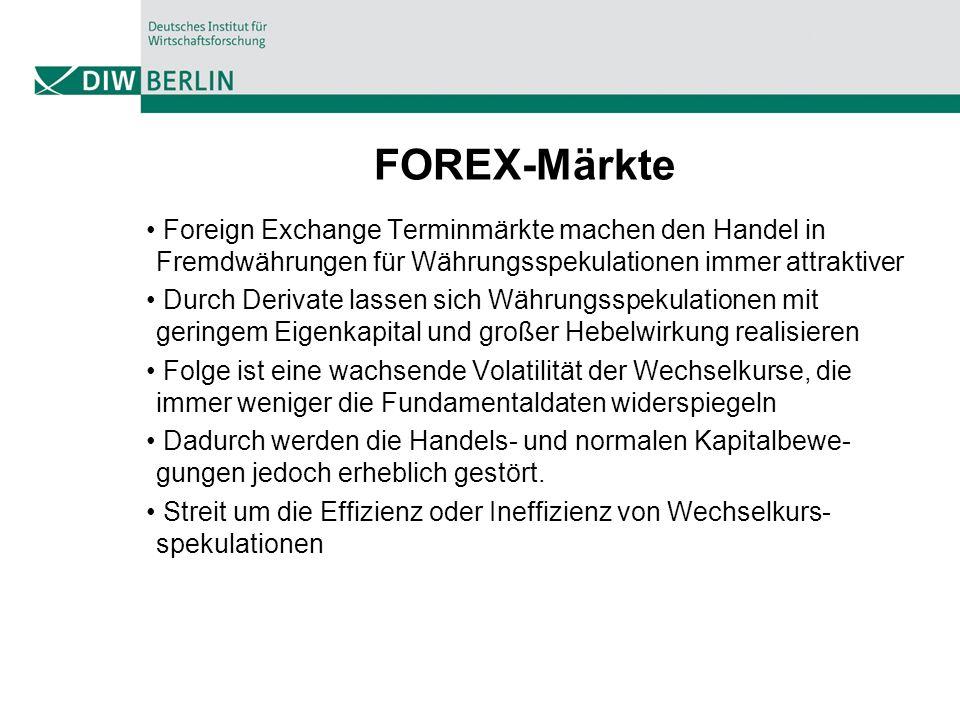 FOREX-Märkte Foreign Exchange Terminmärkte machen den Handel in Fremdwährungen für Währungsspekulationen immer attraktiver.