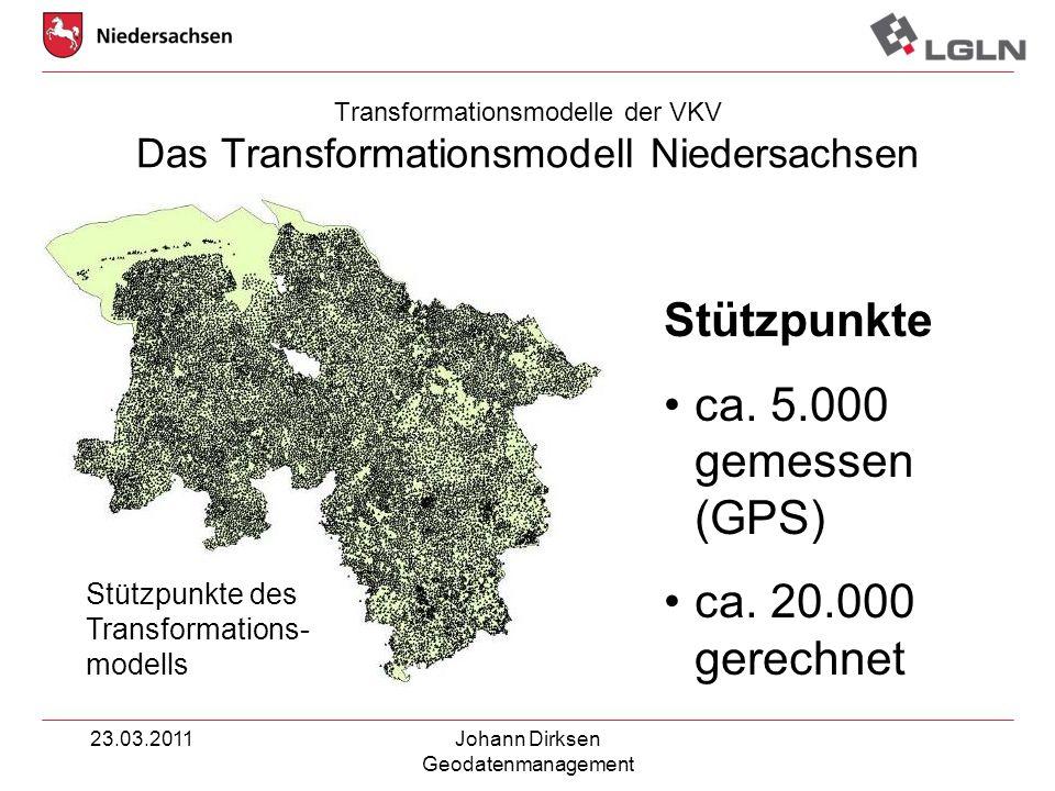 Transformationsmodelle der VKV Das Transformationsmodell Niedersachsen