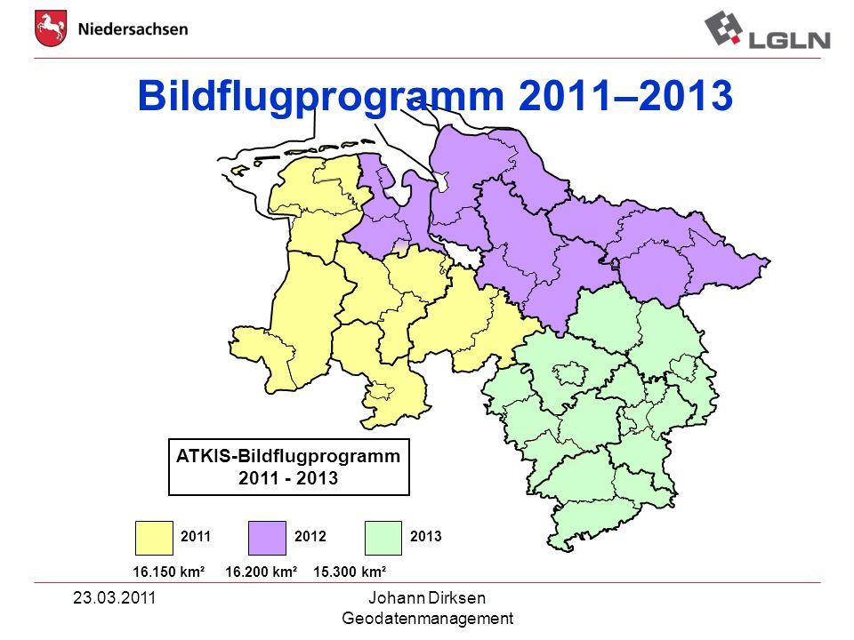 ATKIS-Bildflugprogramm 2011 - 2013