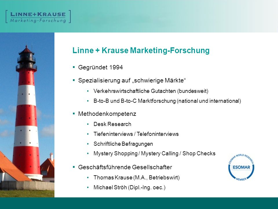 Linne + Krause Marketing-Forschung