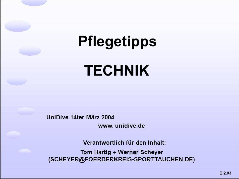 Tom Hartig + Werner Scheyer (SCHEYER@FOERDERKREIS-SPORTTAUCHEN.DE)