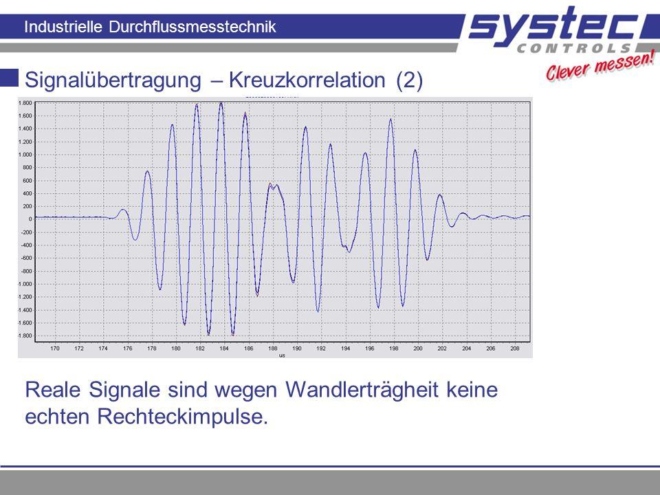 Signalübertragung – Kreuzkorrelation (2)