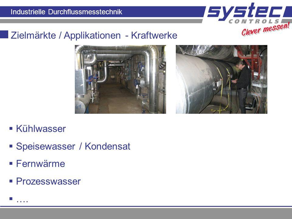 Zielmärkte / Applikationen - Kraftwerke