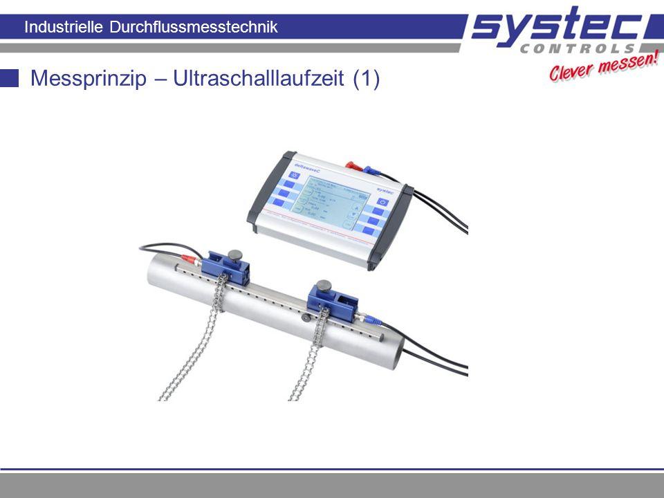 Messprinzip – Ultraschalllaufzeit (1)