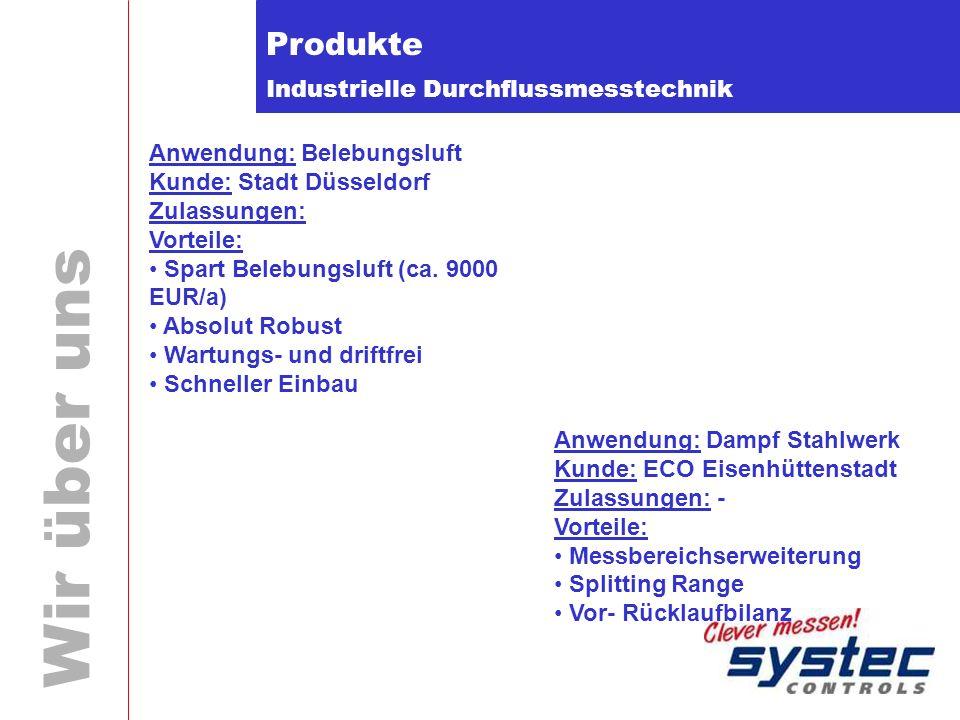 Produkte Anwendung: Belebungsluft Kunde: Stadt Düsseldorf Zulassungen: