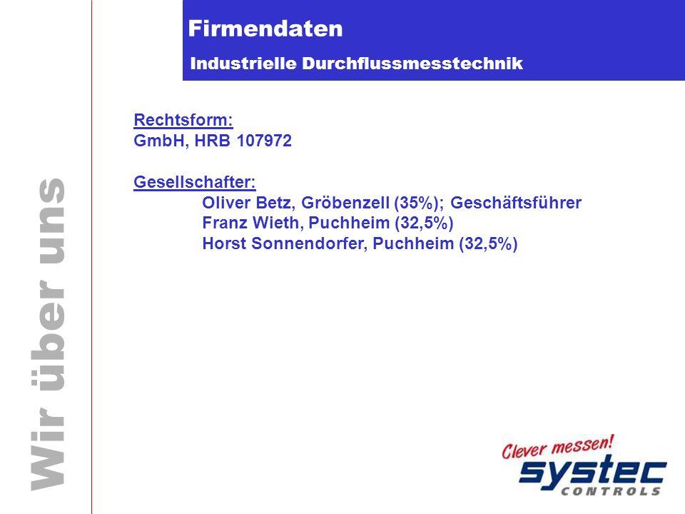 Firmendaten Rechtsform: GmbH, HRB 107972 Gesellschafter:
